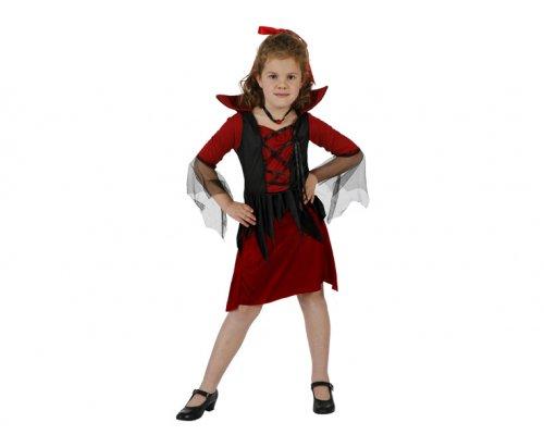 Disfraz de vampiresa 7-9 aÑos niÑa