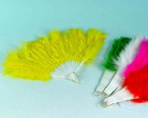 Abanicos de plumas 28 cm