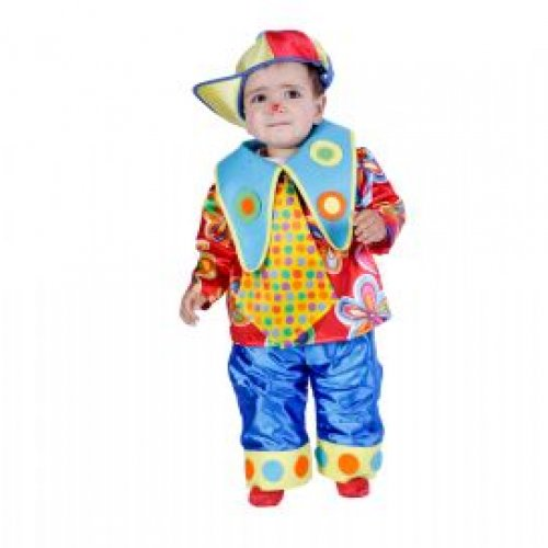 Disfraz de Payasito, 18 meses.