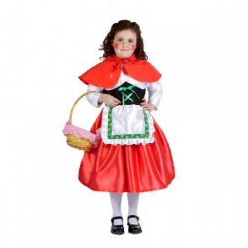 Disfraz de Niña Caperucita, 1-3 años, talla 0
