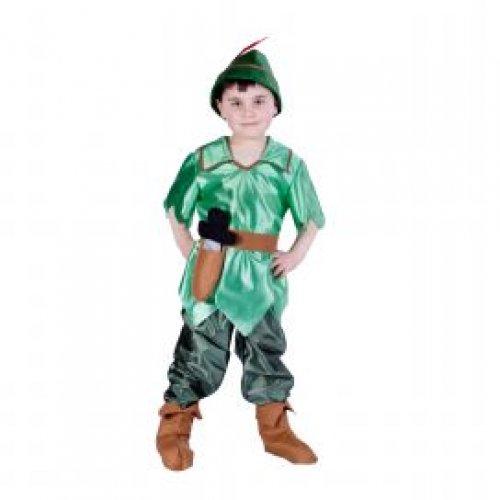 Disfraz de Robin, 7 a 9 años, talla 3