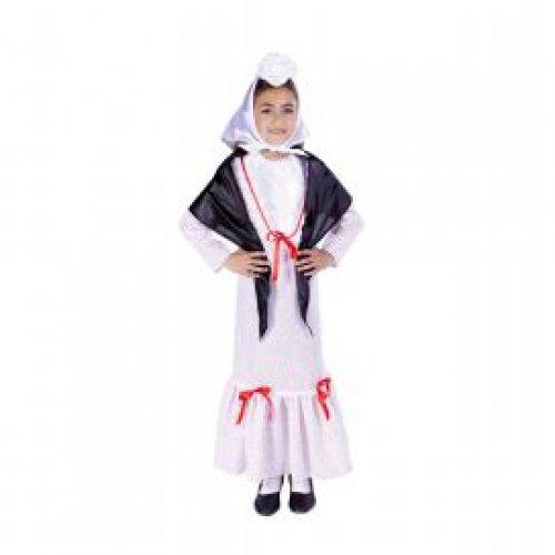 Disfraz de Chulapita, 3-5 años, talla 1