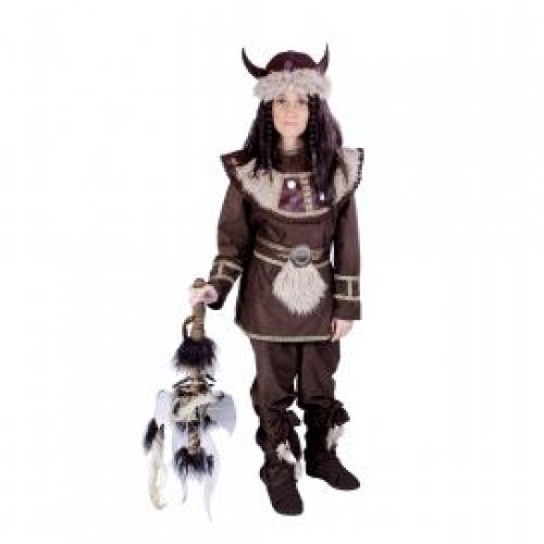 Disfraz de Vikingo 7 a 9 años, talla 3