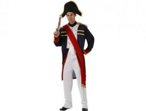 Disfraz de sargento francés, adulto xxl