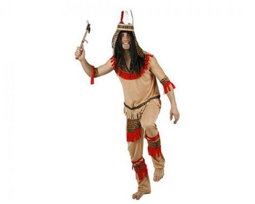 Disfraz de indio, adulto