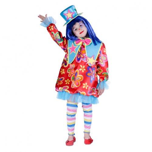 Disfraz de Payasita, 3-5 años, talla 1