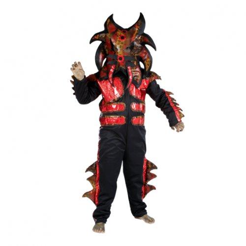 Disfraz de Alien Tigre, 9-11 años, talla 4