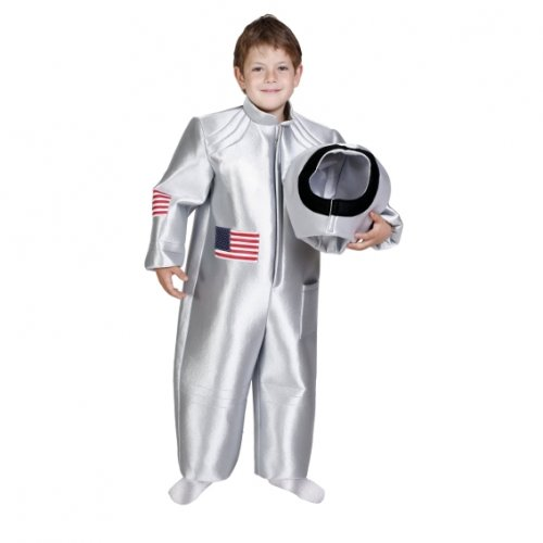 Disfraz de Astronauta, 7-9 años, talla 3