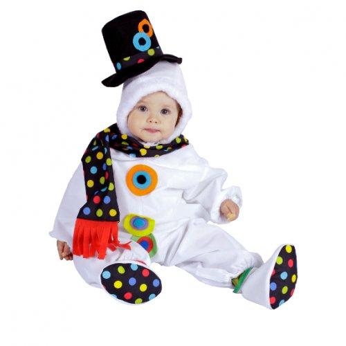 Disfraz de Pelele Muñeco de Nieve, 10 meses