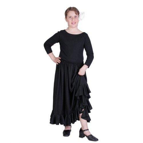 Disfraz de Falda Rociera, 11-13 años, talla 5