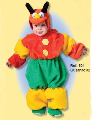 Disfraz de Gusanito Luz 18 meses