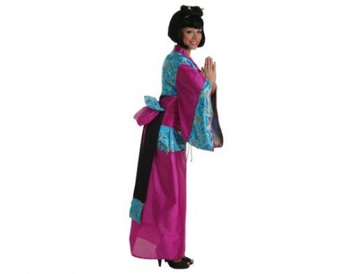 Disfraz de geisha Ikita, adulto