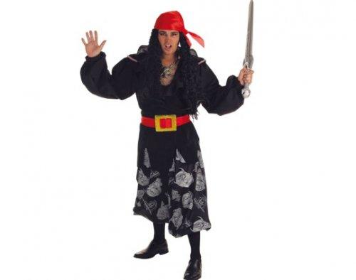 Disfraz de bucanero cavalera, adulto