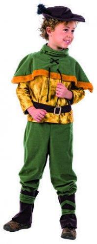 Disfraz Príncipe de Ladrones 9-11 años