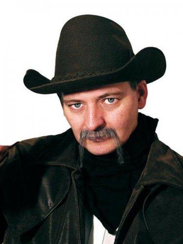 accesorio bigote cowboy