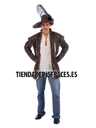 accesorio casaca camisa y sombrero aventurero