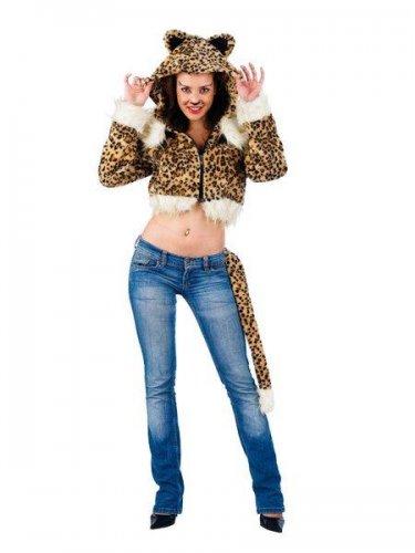 Cazadora de leopardo