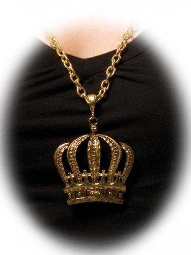 accesorio collar corona Talla única