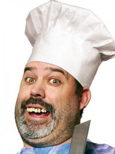 accesorio dientes cocinero