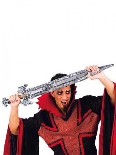 accesorio espada puño calavera