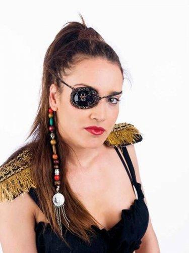 accesorio parche pirata