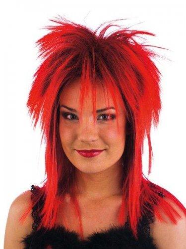accesorio peluca alaska roja