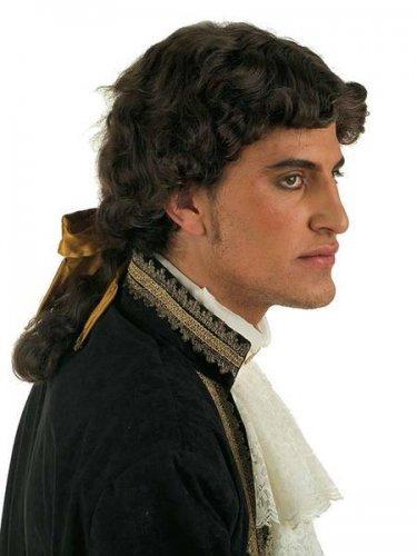 accesorio peluca caballero epoca moreno