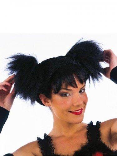 accesorio peluca coletas zig zag
