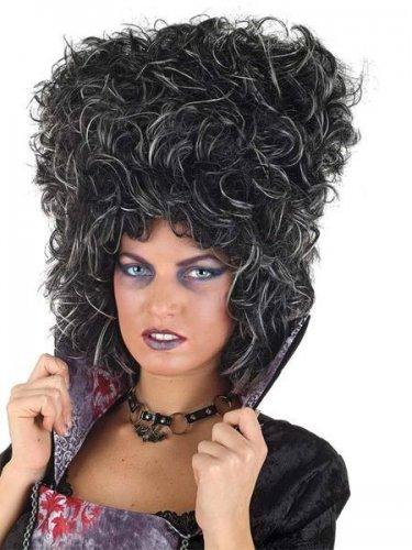 accesorio peluca dama gotica