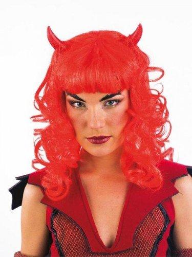 accesorio peluca diablesa