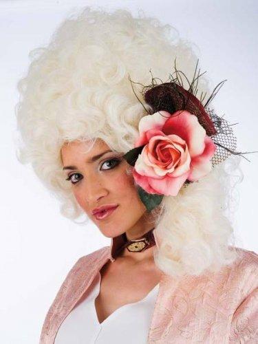 accesorio peluca epoca flor