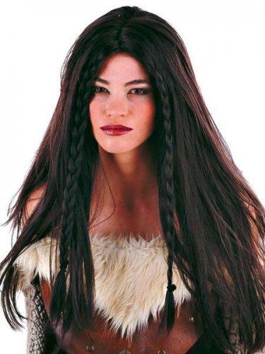 Peluca guerrera medieval