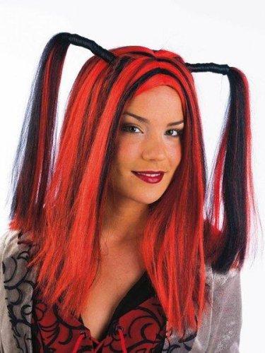 accesorio peluca mechas