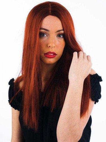 accesorio peluca melena larga