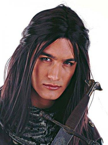 accesorio peluca principe de los elfos Castaño