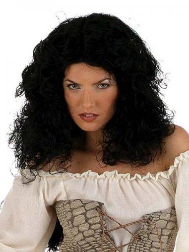 accesorio peluca rizada larga