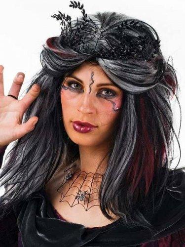 accesorio peluca vampiresa
