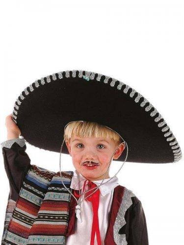 616ceac3a8a46 accesorio sombrero mariachi infantil Talla única