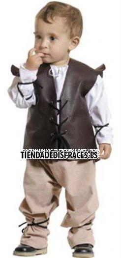 Disfraz de Medieval niño 24 €