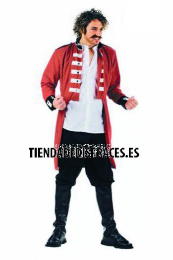 Disfraz de Capitán Inglés super-lujo  68 €