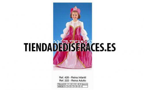Disfraz de Reina Rosa