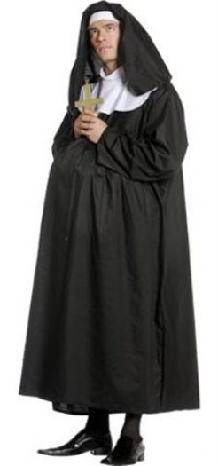 Disfraz de Monja preñada