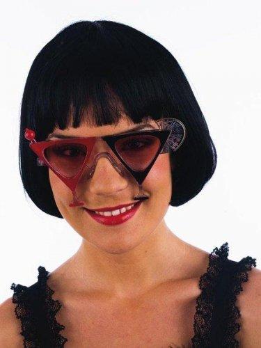 gafas martini rojo/negra