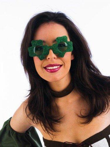 gafas trebol verde