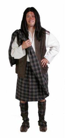 Disfraz de Guerrero Escocés Bravehearth