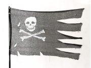 comprar Bandera pirata halloween 76x127cm