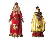 Disfraz adulto señora feudal
