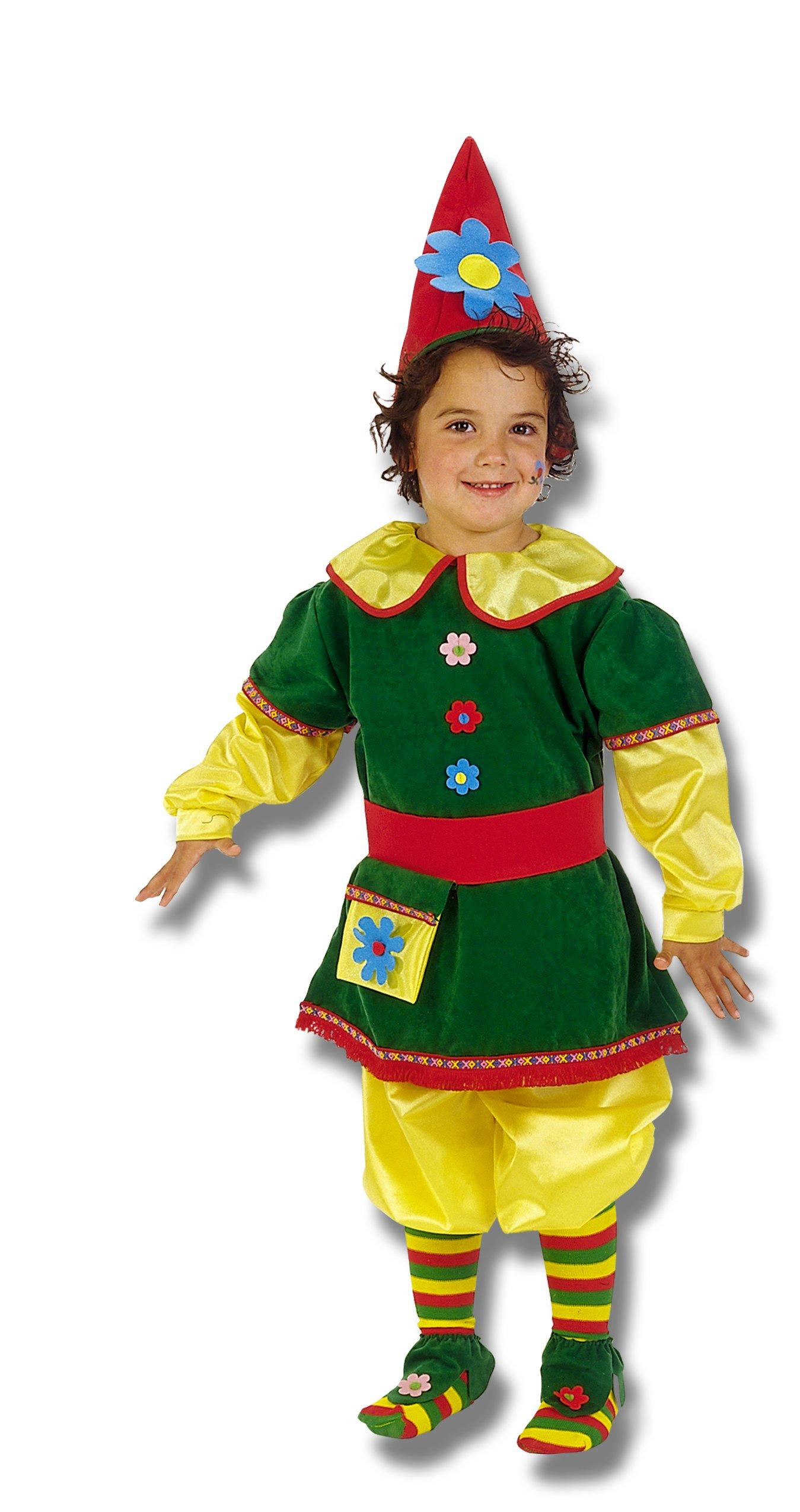 Disfraz de Gnomo infantil talla 3 (7-9 a�os)