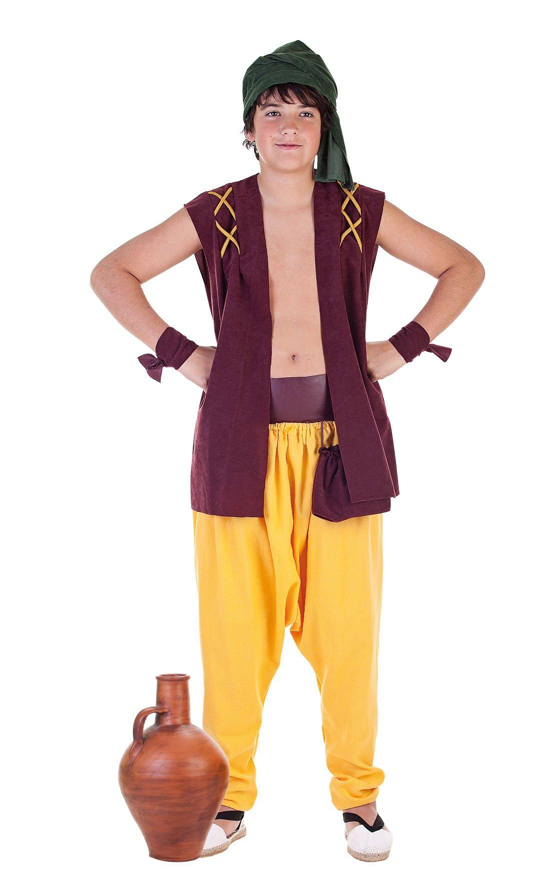 Disfraz de alfarero talla 5 (11-13 años)