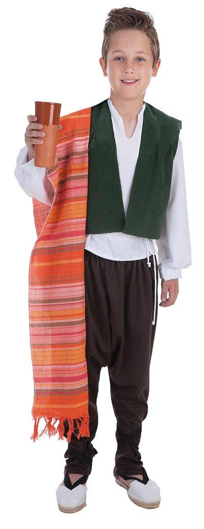 Disfraz de bodeguero talla 5 (11-13 años)
